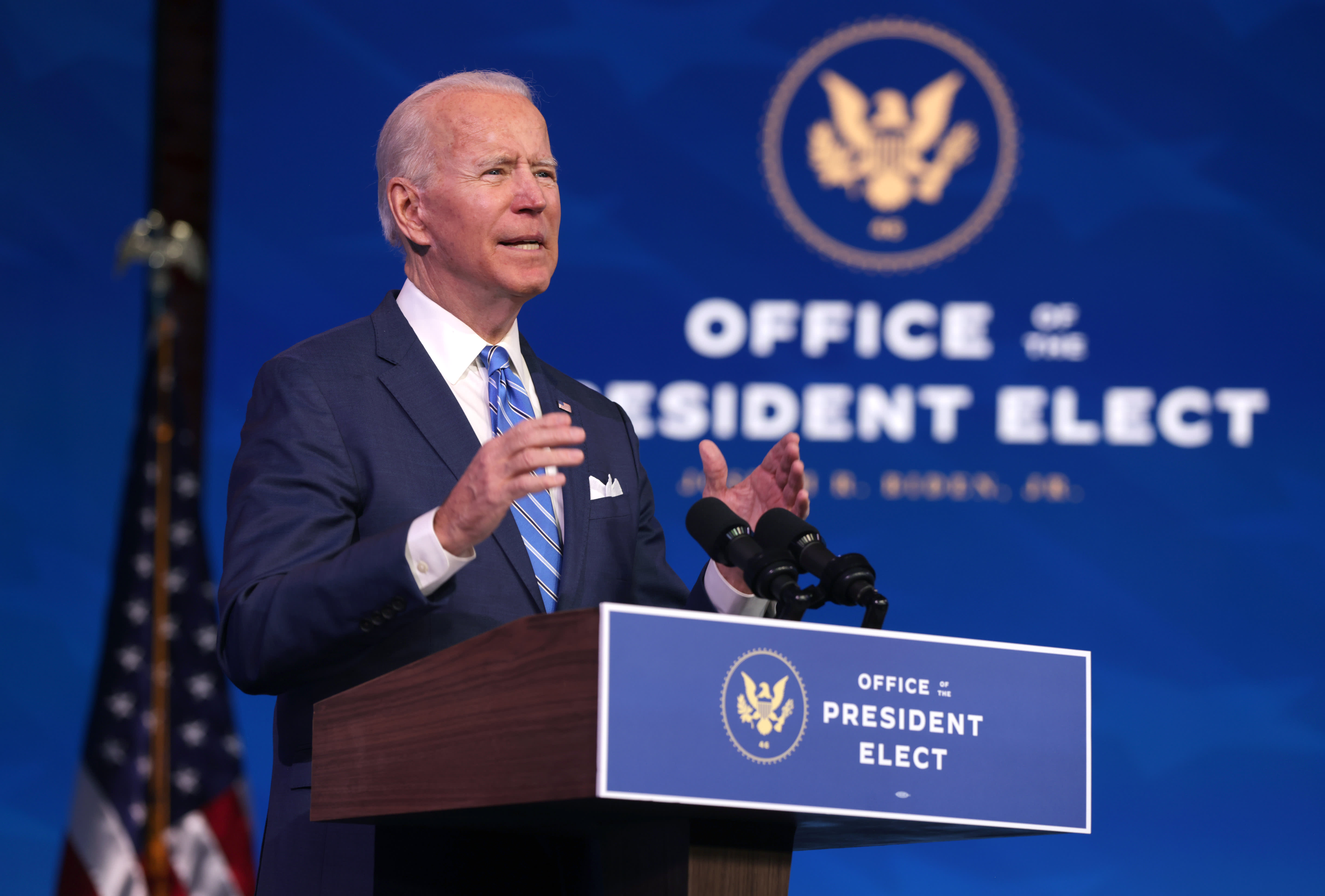 Biden's stimulus plan may drive out funds from Asia to the U.S., JPMorgan says