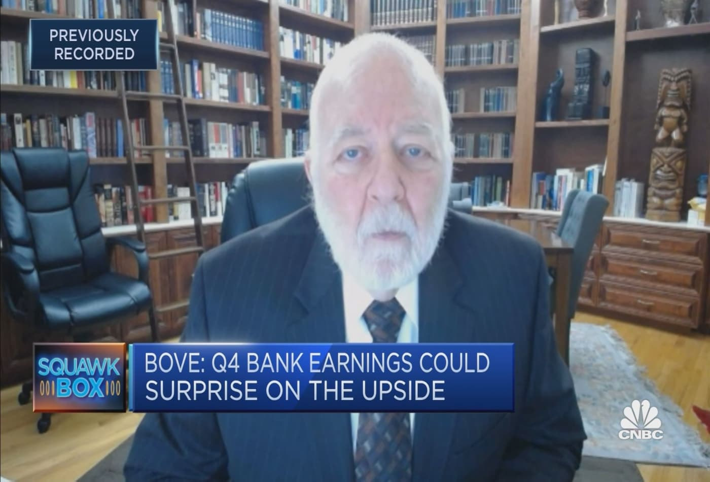 Positives outweigh negative risks for U.S. banks' earnings: Dick Bove