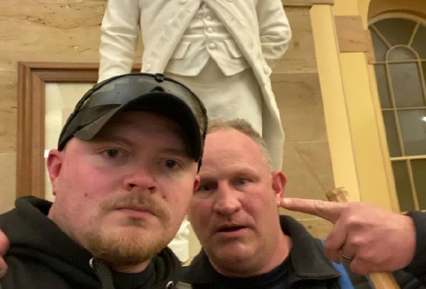 Virginia National Guard corporal Jacob Fracker and fellow police officer charged in U.S. Capitol riot