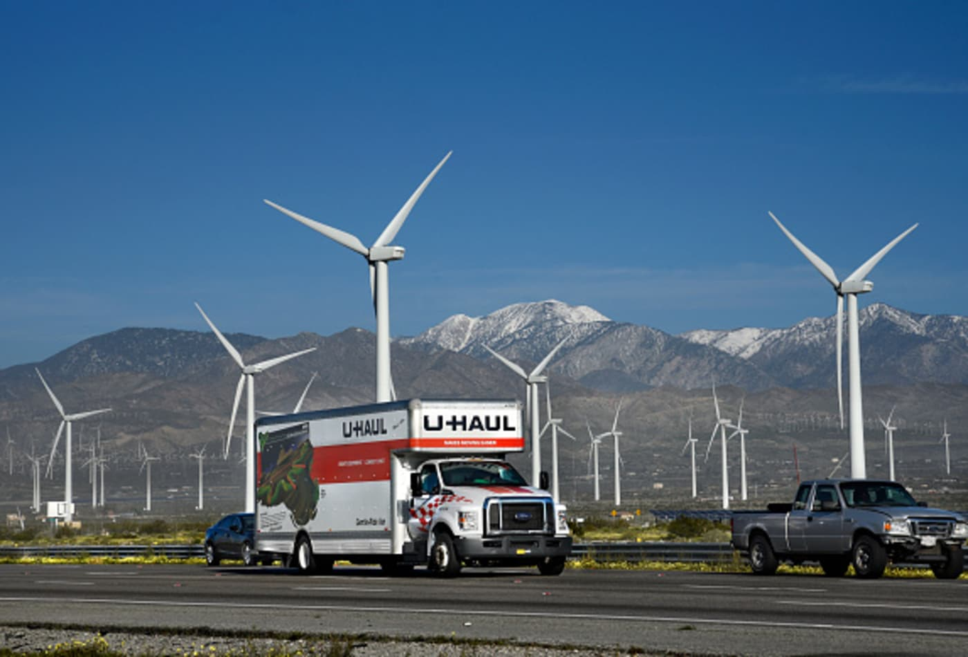 The states Americans headed to the most in 2020, according to U-Haul