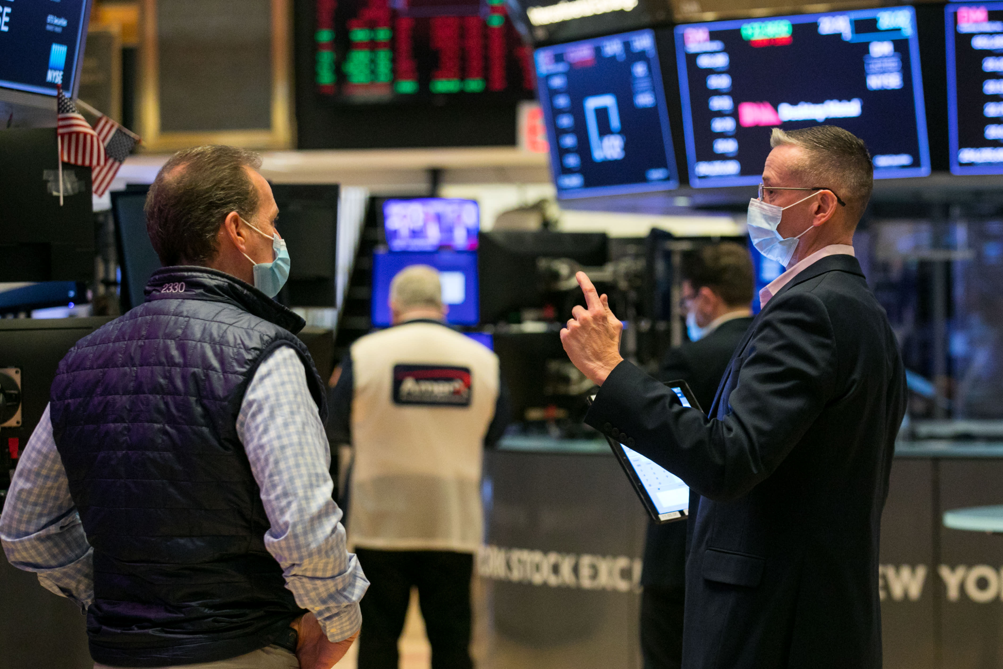 The stock market's rally to a record on stimulus and vaccine hopes leaves little room for error