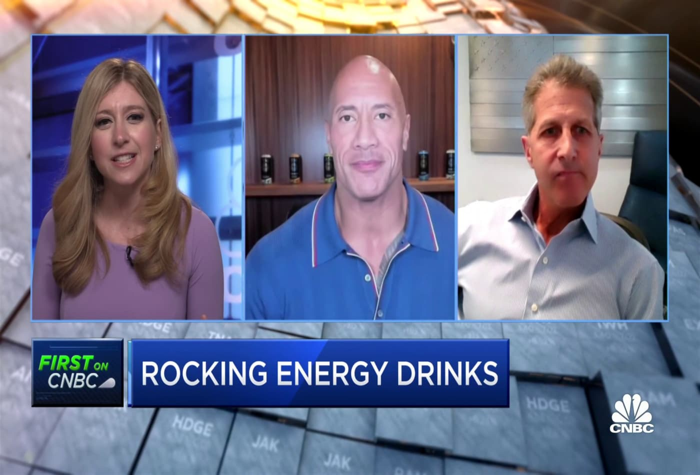 Dwayne 'The Rock' Johnson on the launch of his new energy drink