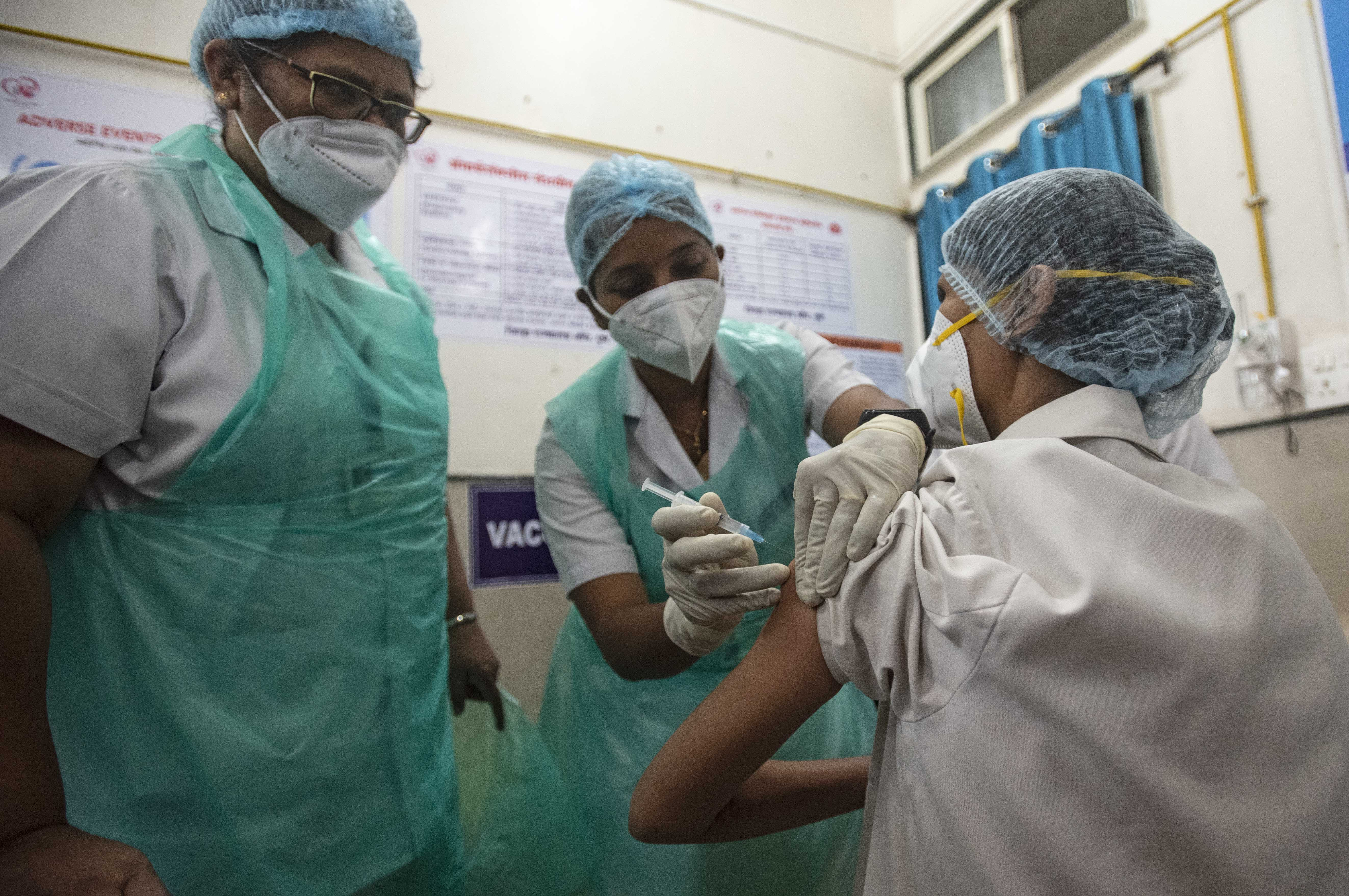Top Indian vaccine maker's production capacity is reportedly 'stressed' as Covid-19 cases rise