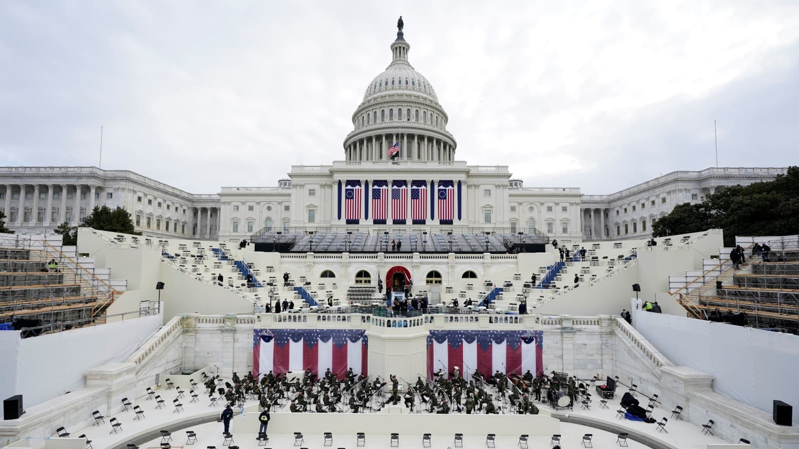 Joe Biden inauguration: Washington prepares for historic day