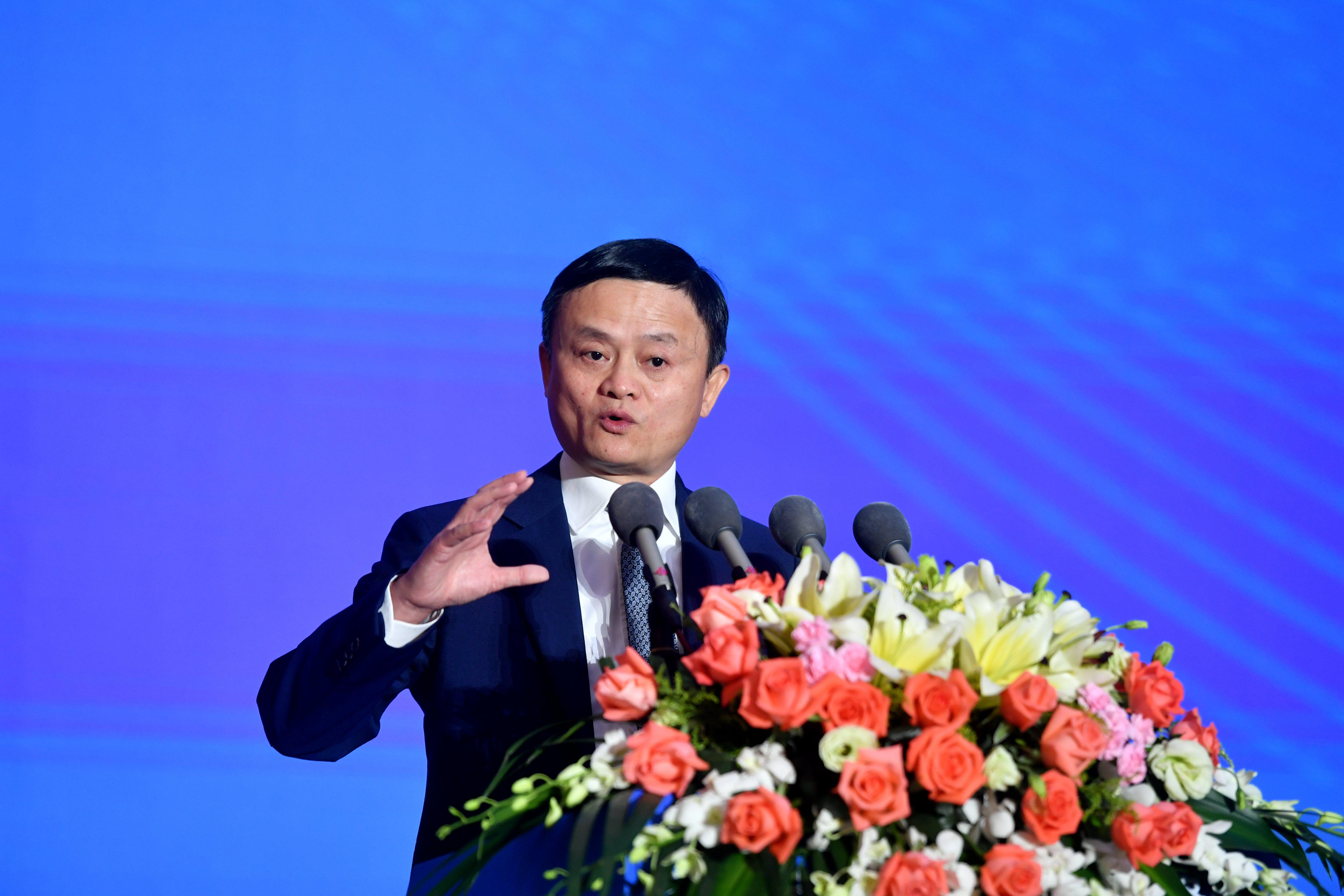 Alibaba founder Jack Ma appears for the first time since crackdown on his tech empire