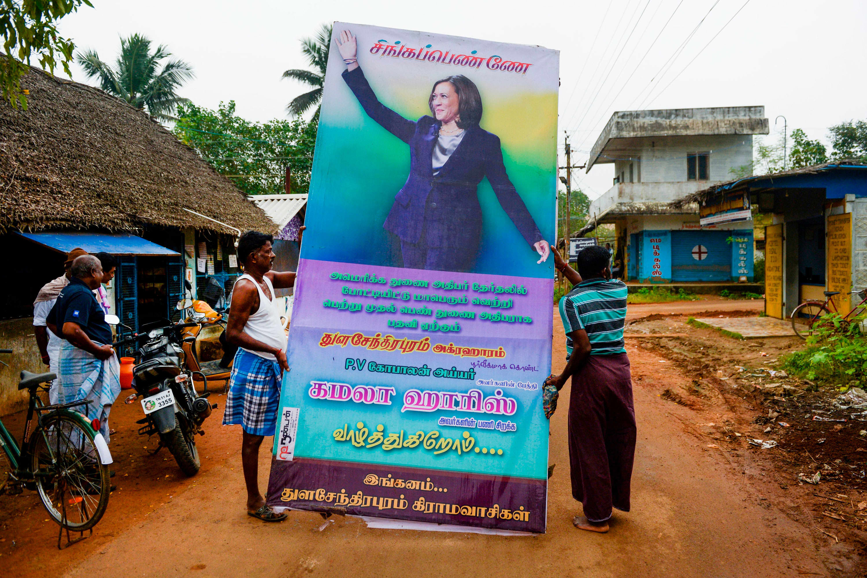 A tiny village in South India celebrates Vice President Kamala Harris with firecrackers and prayers – CNBC