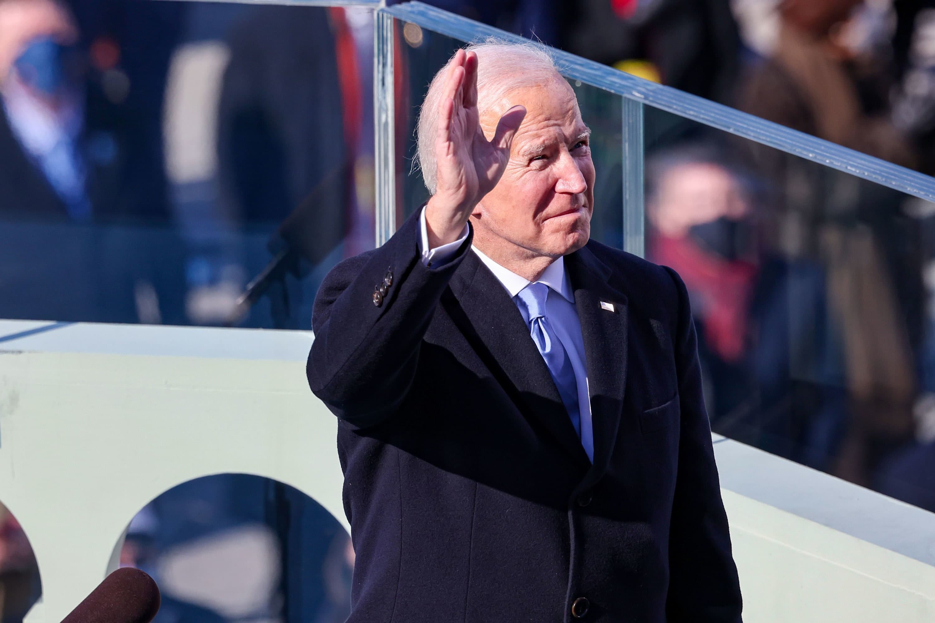Biden's inaugural address used the word 'democracy' more than any other president's – CNBC