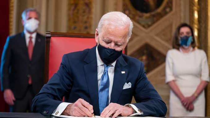 Presiden Joe Biden dilantik sebagai presiden AS ke-46