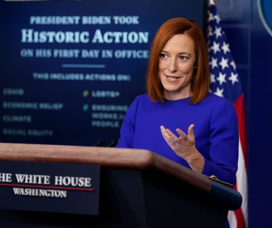 Updates: Biden White House promises to bring back 'truth and transparency' in first press briefing