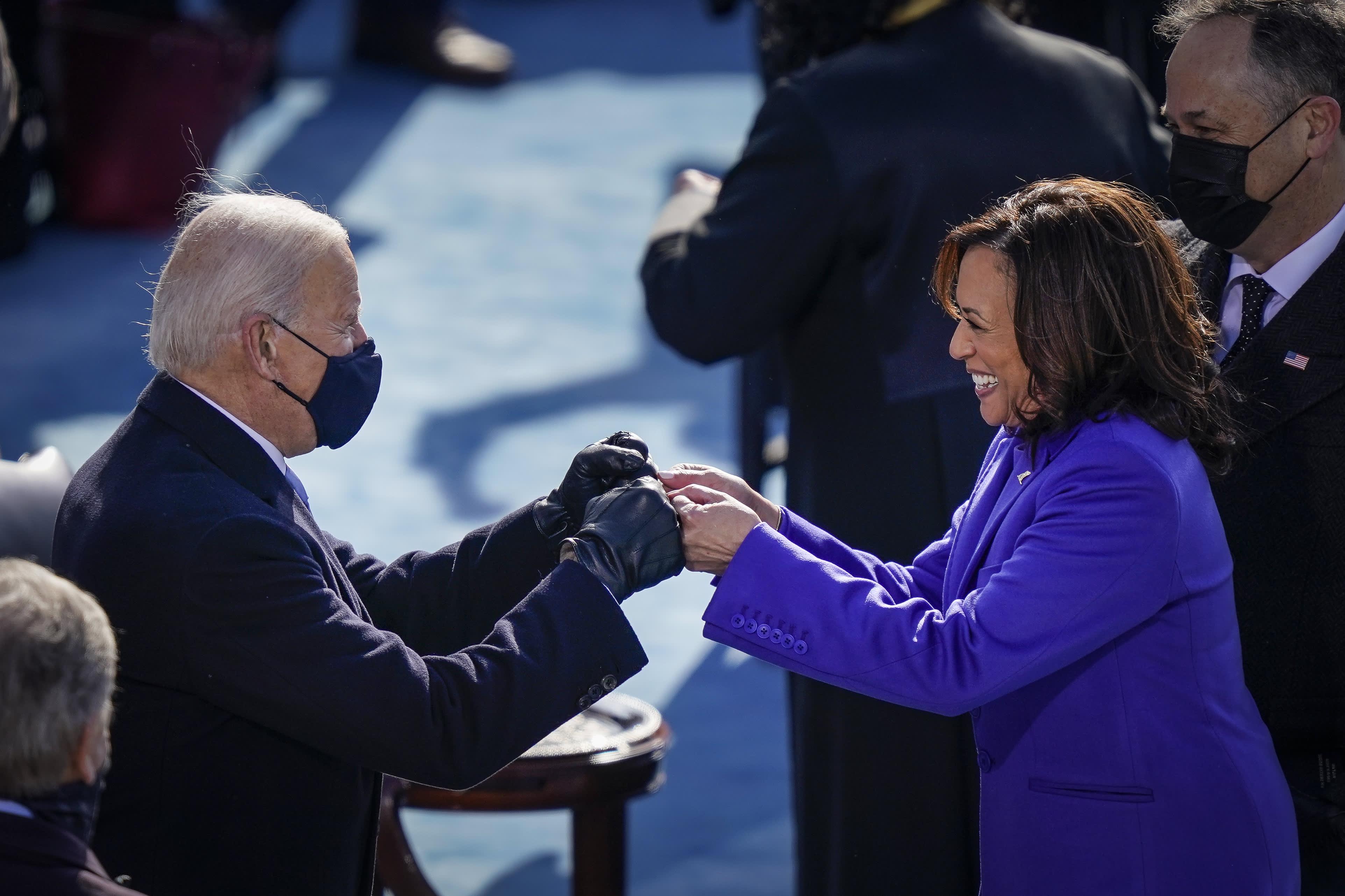 'New daybreak in America': World leaders welcome U.S. President Joe Biden and Vice President Kamala Harris