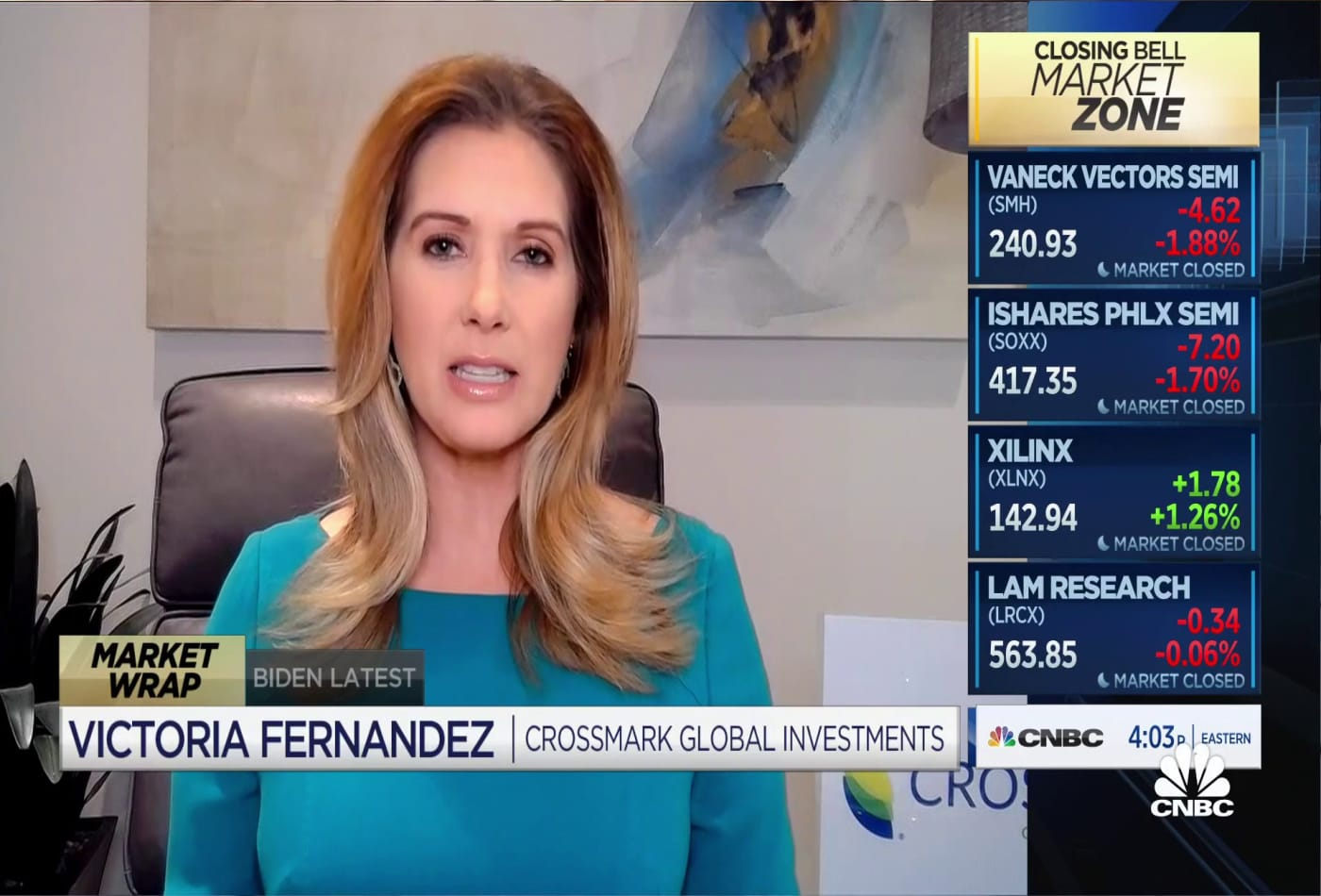 Victoria Fernandez warns there may be pullback in US equities