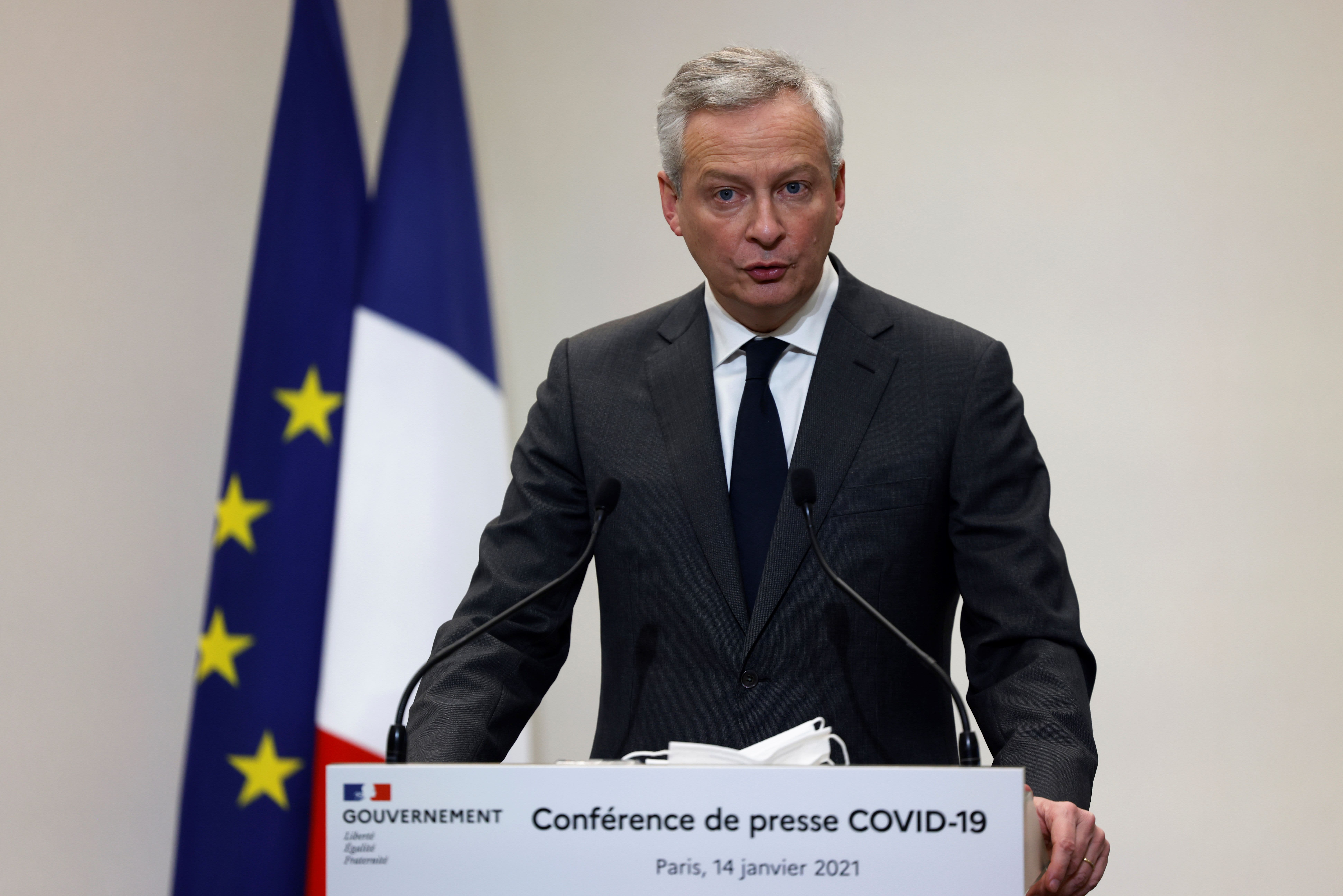 'We are one millimeter away' from global tax deal, French finance minister says thumbnail