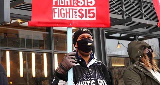 Democrats reintroduce $15 minimum wage bill