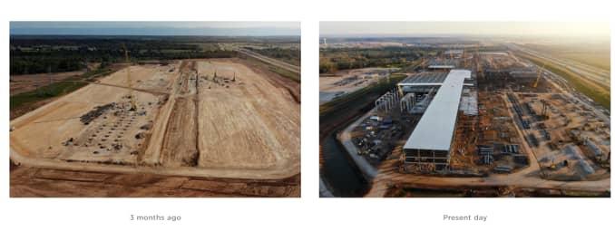 Tesla Texas factory