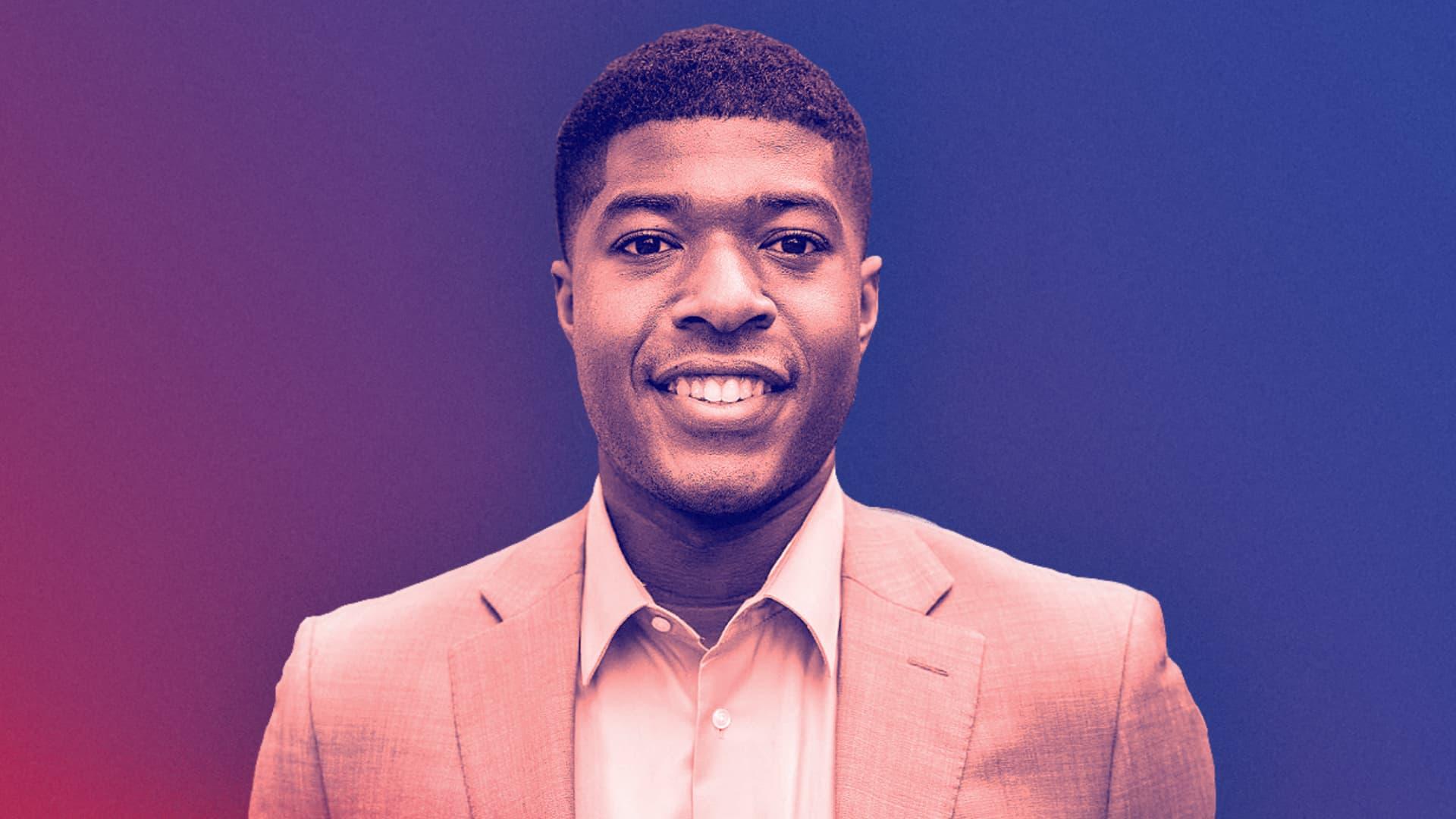 Noah Harris, Harvard's first Black male student body president.