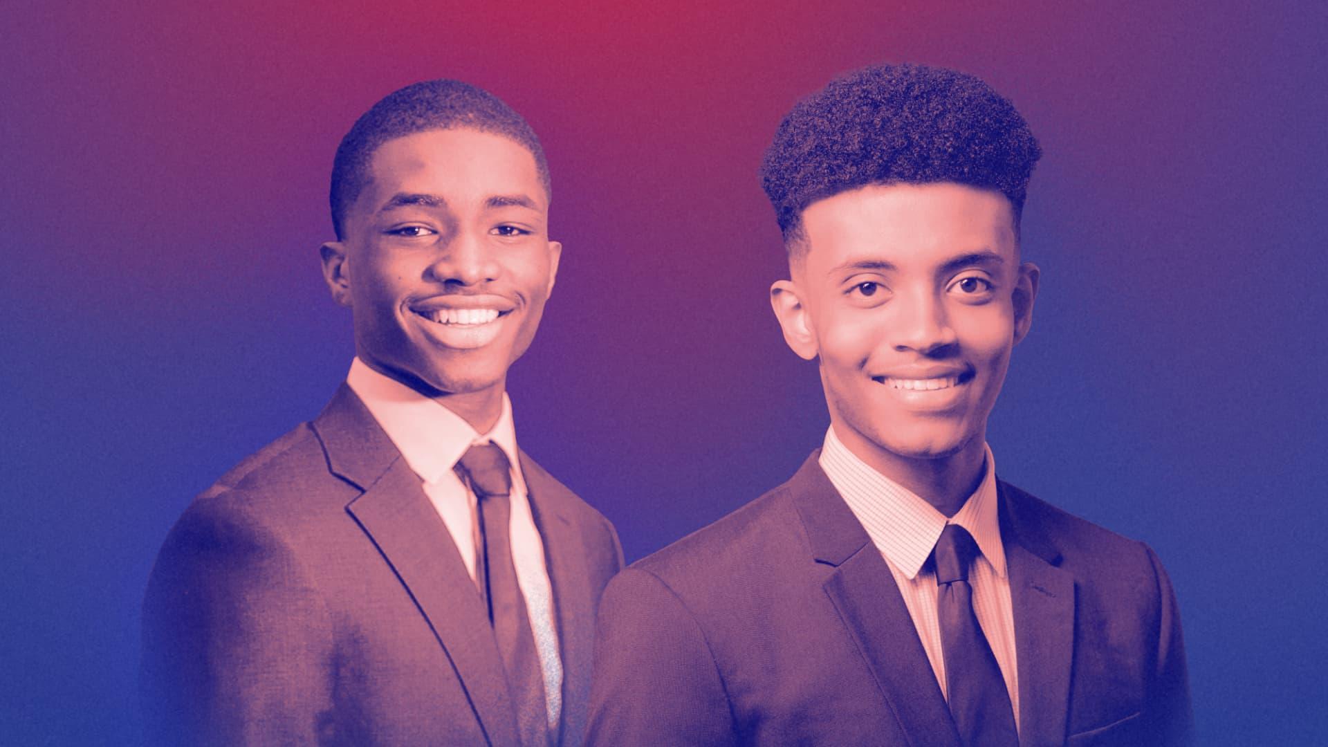 Cheick Camara and Ermias Tadesse, co-founders of BlackGen Capital.