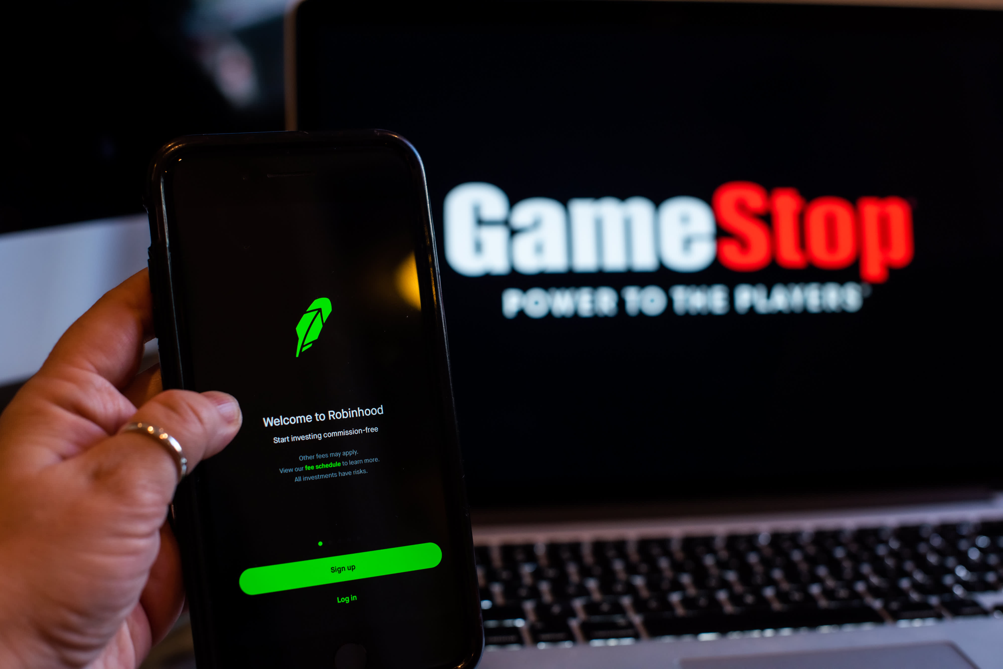 GameStop shares climb more than 40% after Robinhood lifts trading restrictions
