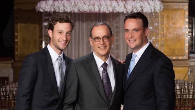 From left to right: Eric Kusin, Gary Kusin and Ben Kusin