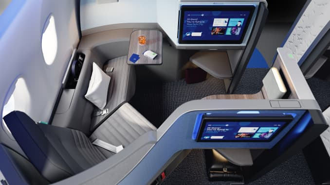 JetBlue new Mint suites for their Airbus A321LRs