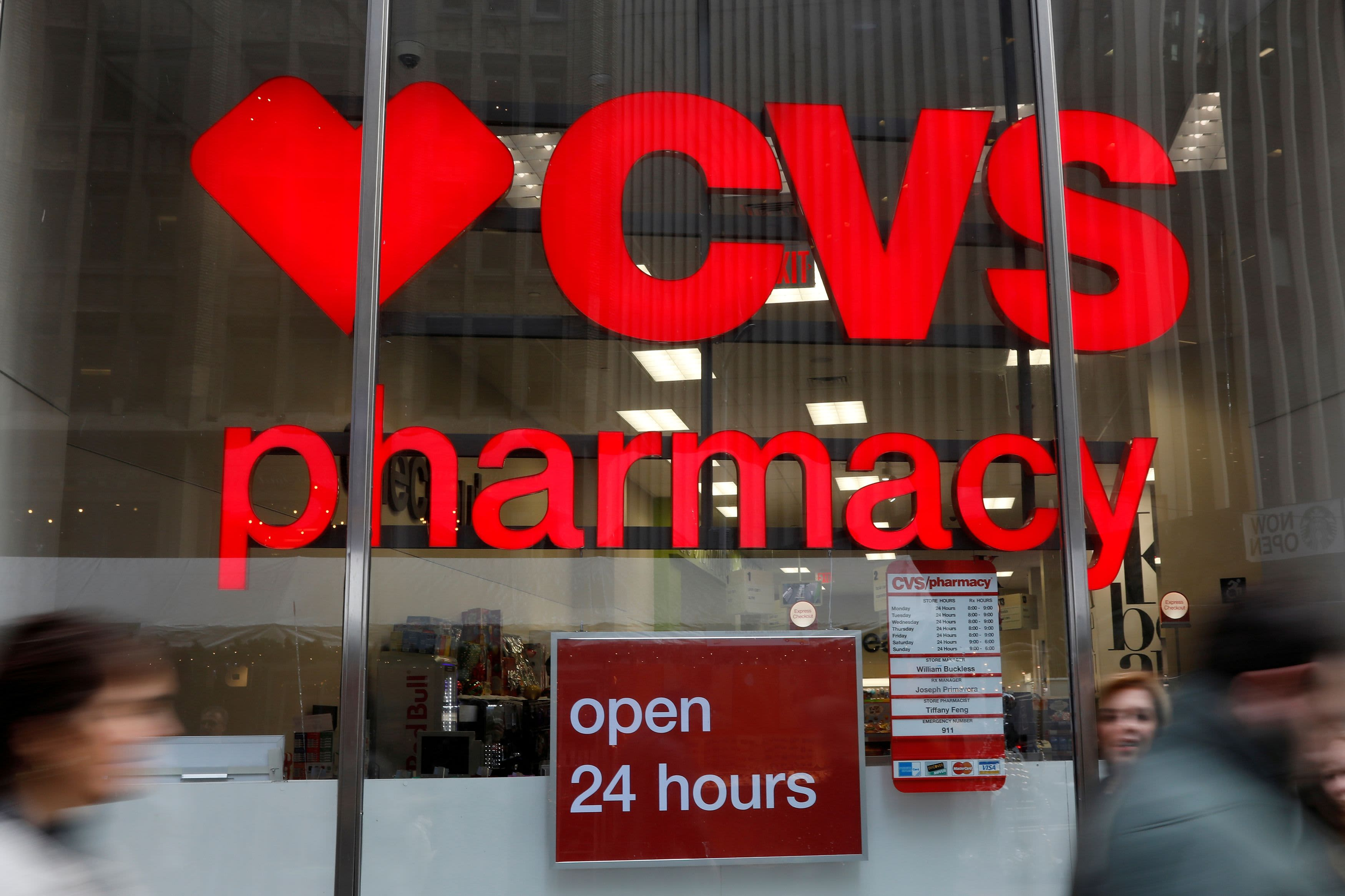 CVS Health earnings top estimates as Covid vaccinations testing boost drugstore sales – CNBC