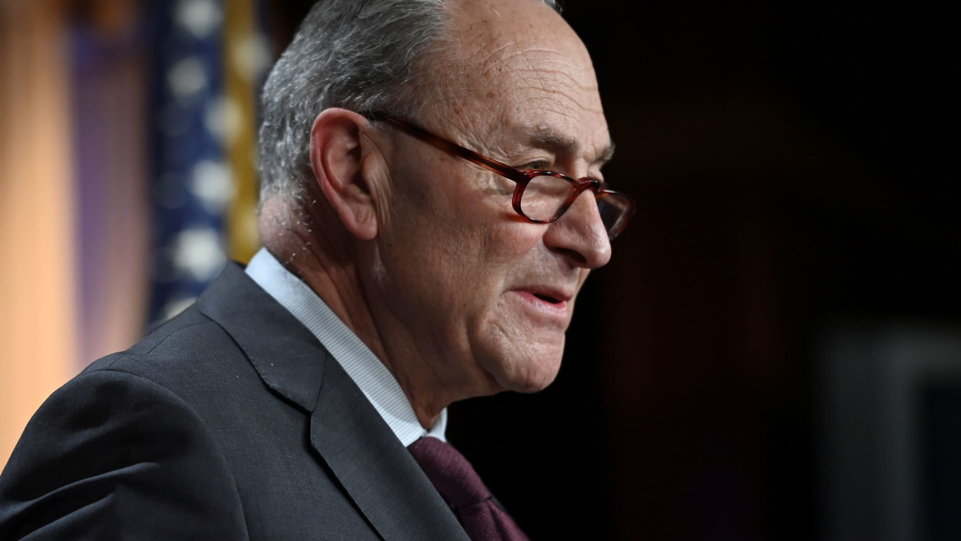 U.S. Senate Majority Leader Chuck Schumer, D-N.Y.