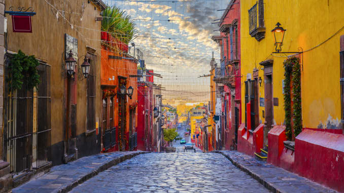 SAN MIGUEL DE ALLENDE, MEXICO -San Miguel de Allende in particular is a secure community, and home to several expats.