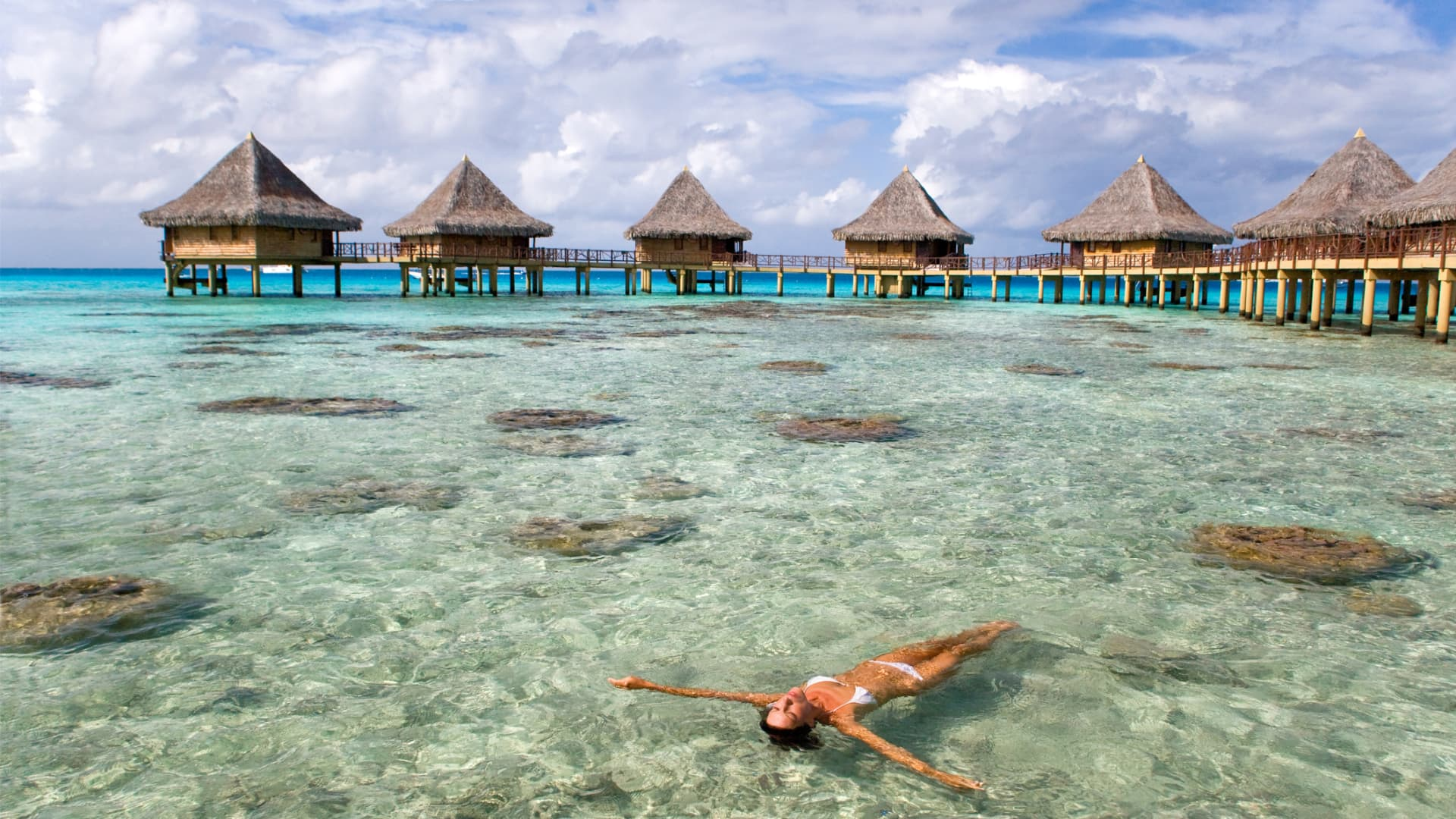 French Polynesia is home to the popular islands of Tahiti and Bora Bora.