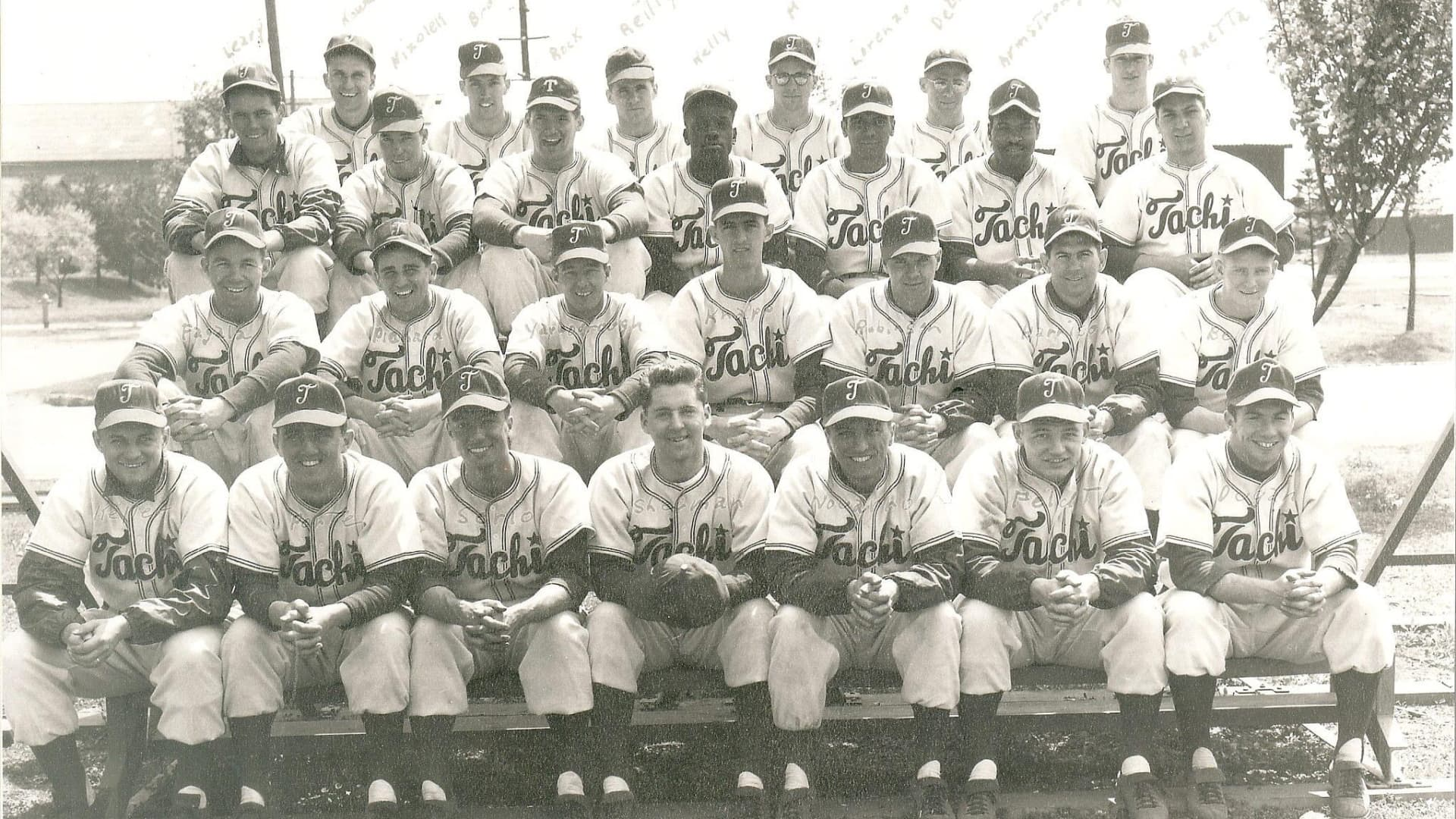 The Tachikawa Red Devils. Dan Porte is pictured in the first row, 2nd from the left.