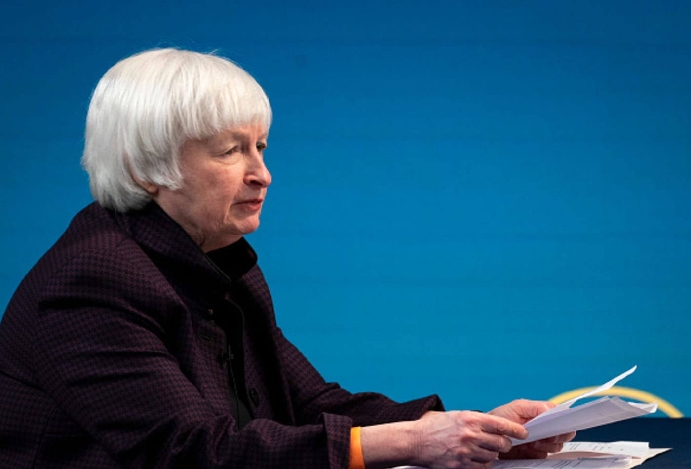 Yellen outlines bold climate agenda calling for net-zero emissions by 2035