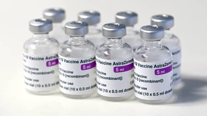 Vaksin covid Oxford-AstraZeneca.