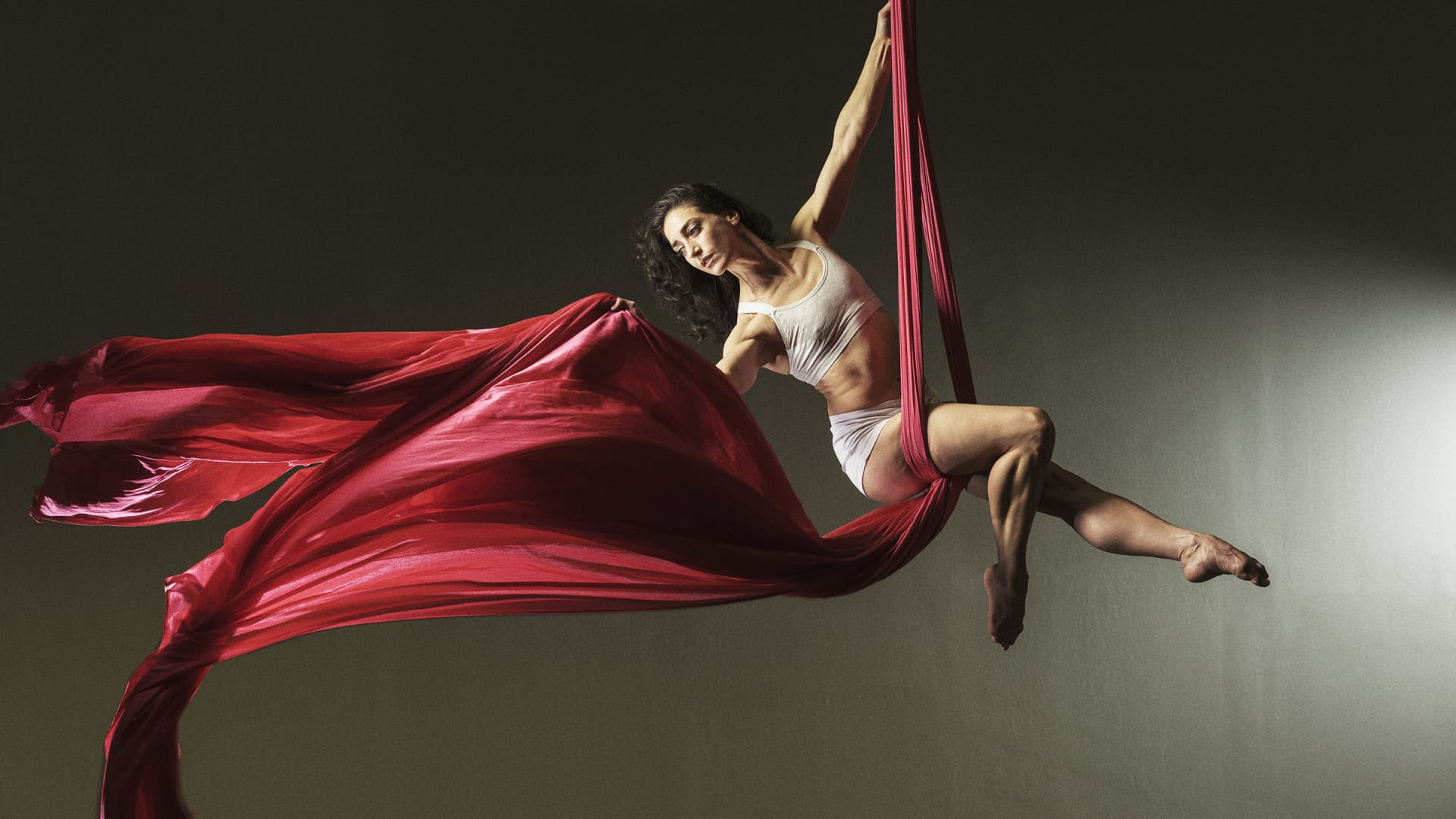 Kyla Ernst-Alper is an aerialist in New York City. She's never had an employer that offered her a 401(k) retirement plan in more than two decades of performing.