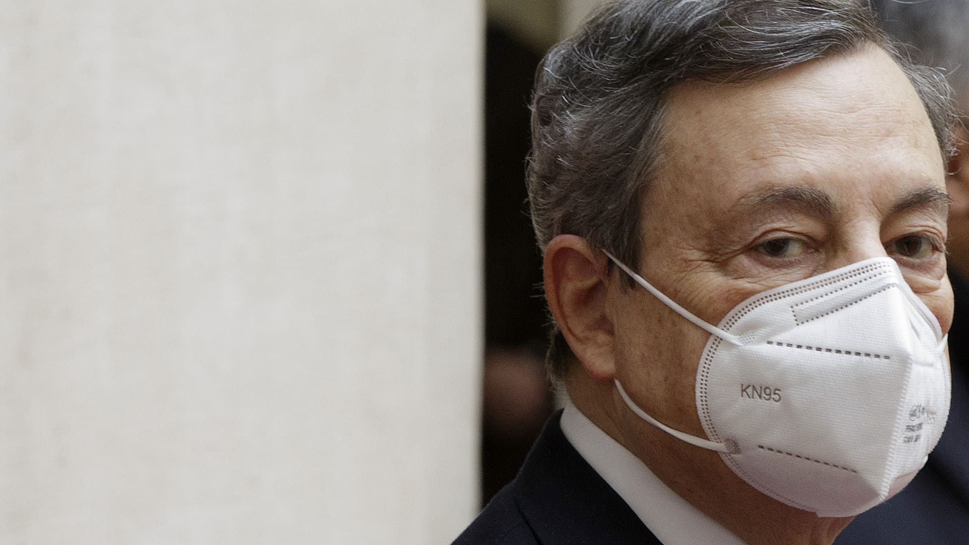 Italian Prime Minister Mario Draghi.