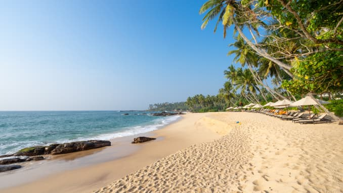 Sri Lanka is famous for its untouched and often empty beaches.