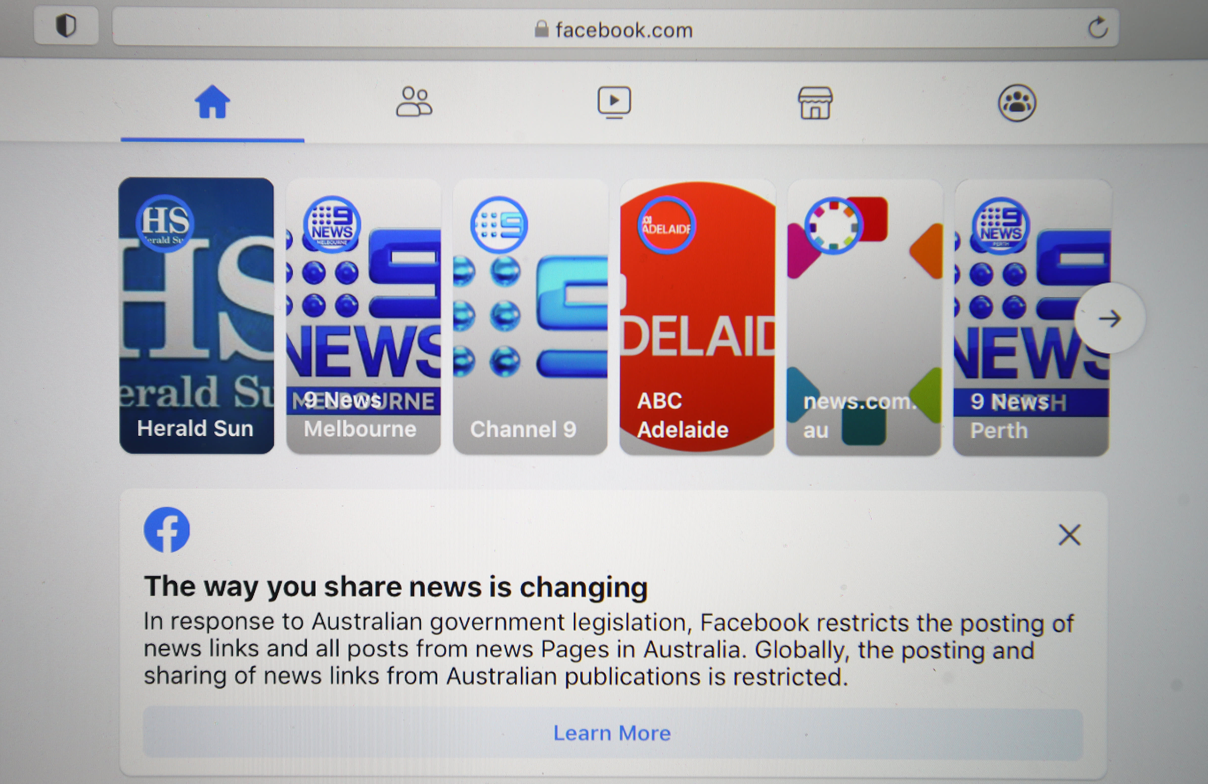 'Arrogant' and 'wrong': Australia slams Facebook's move to block news as unnecessary and heavy-handed - CNBC