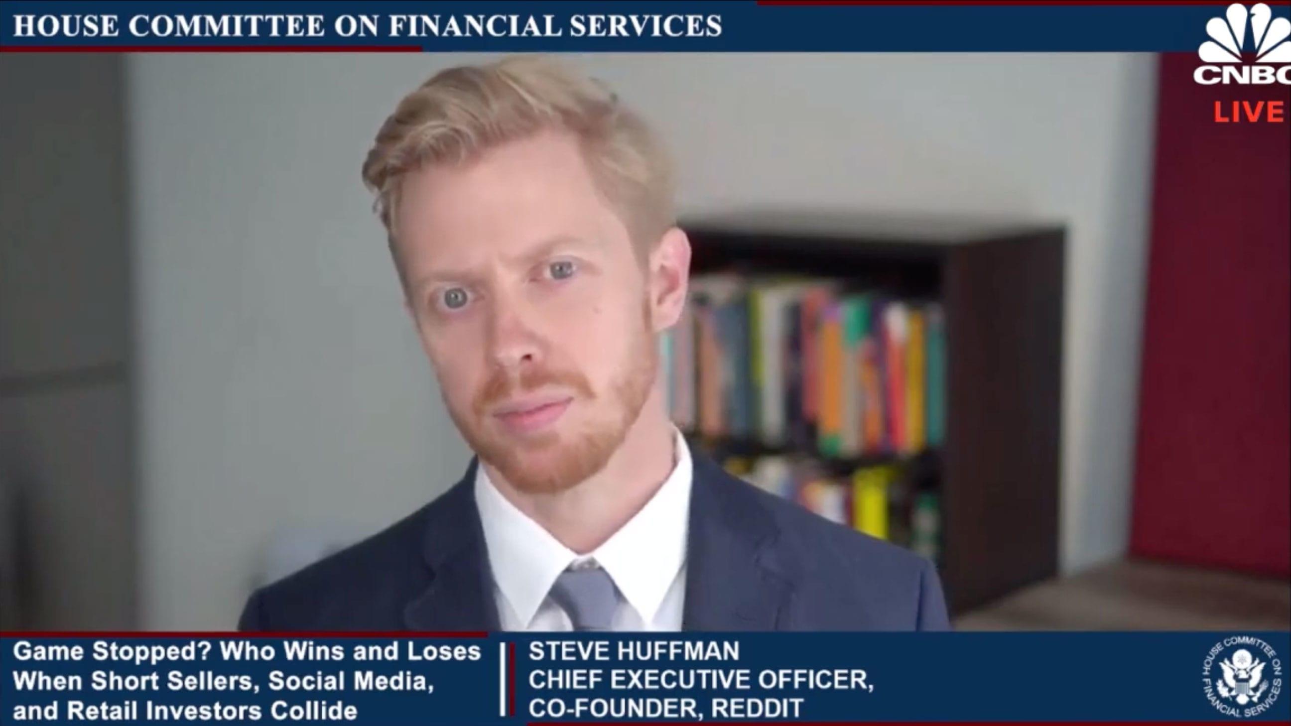 Reddit CEO defends platform's role in GameStop surge - CNBC