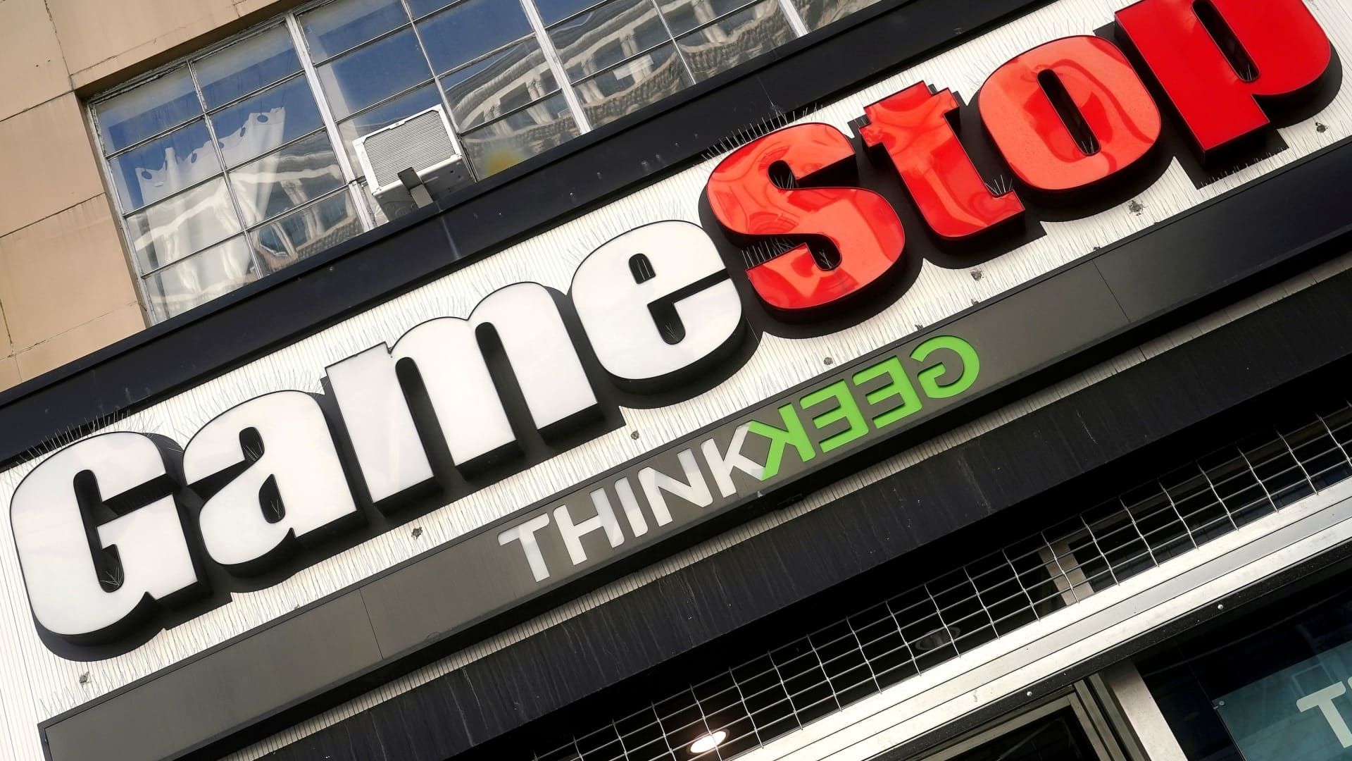 A GameStop store is pictured in New York, January 29, 2021.