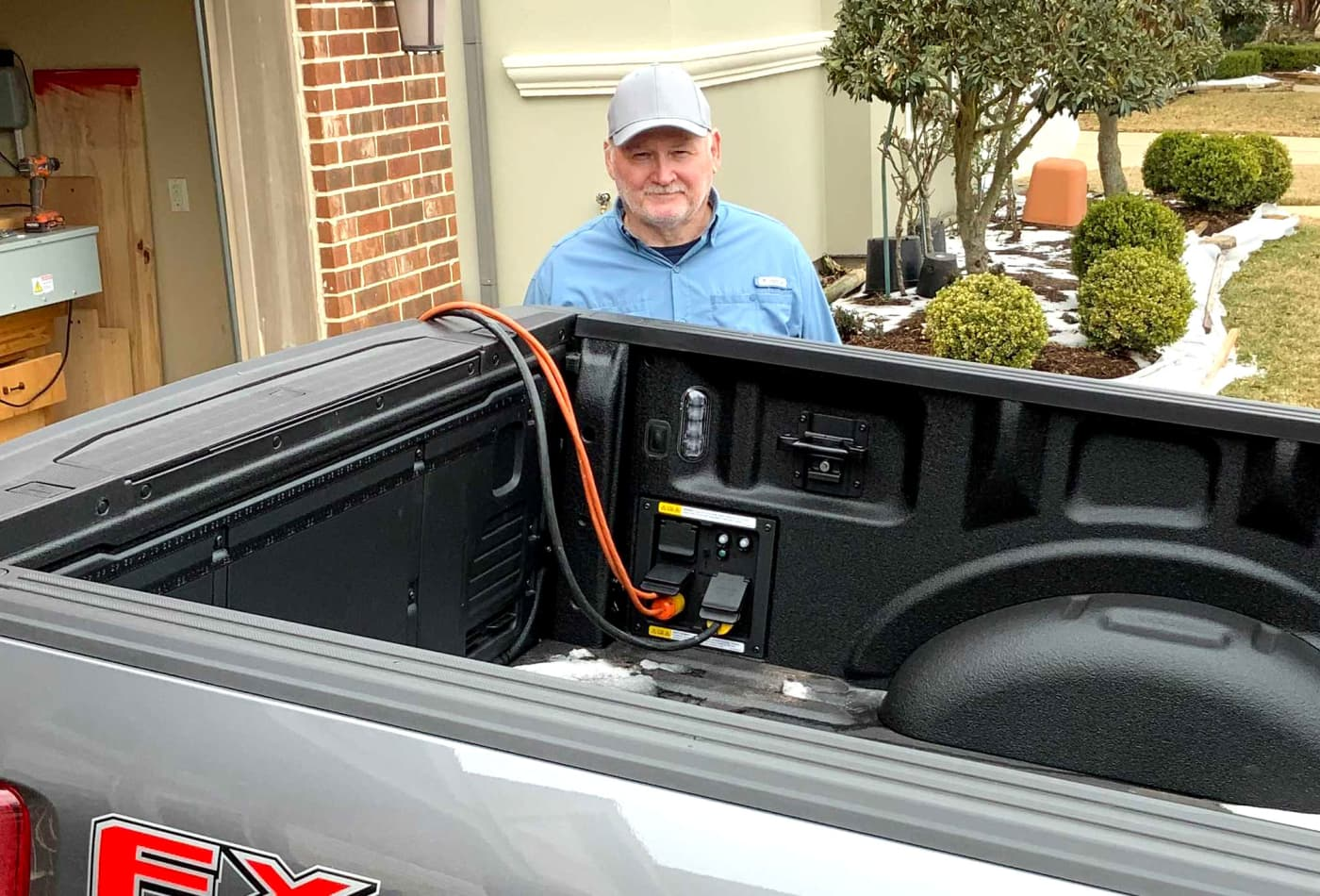 Some Texans use 2021 Ford F-150 hybrid pickup trucks to power homes amid winter storm