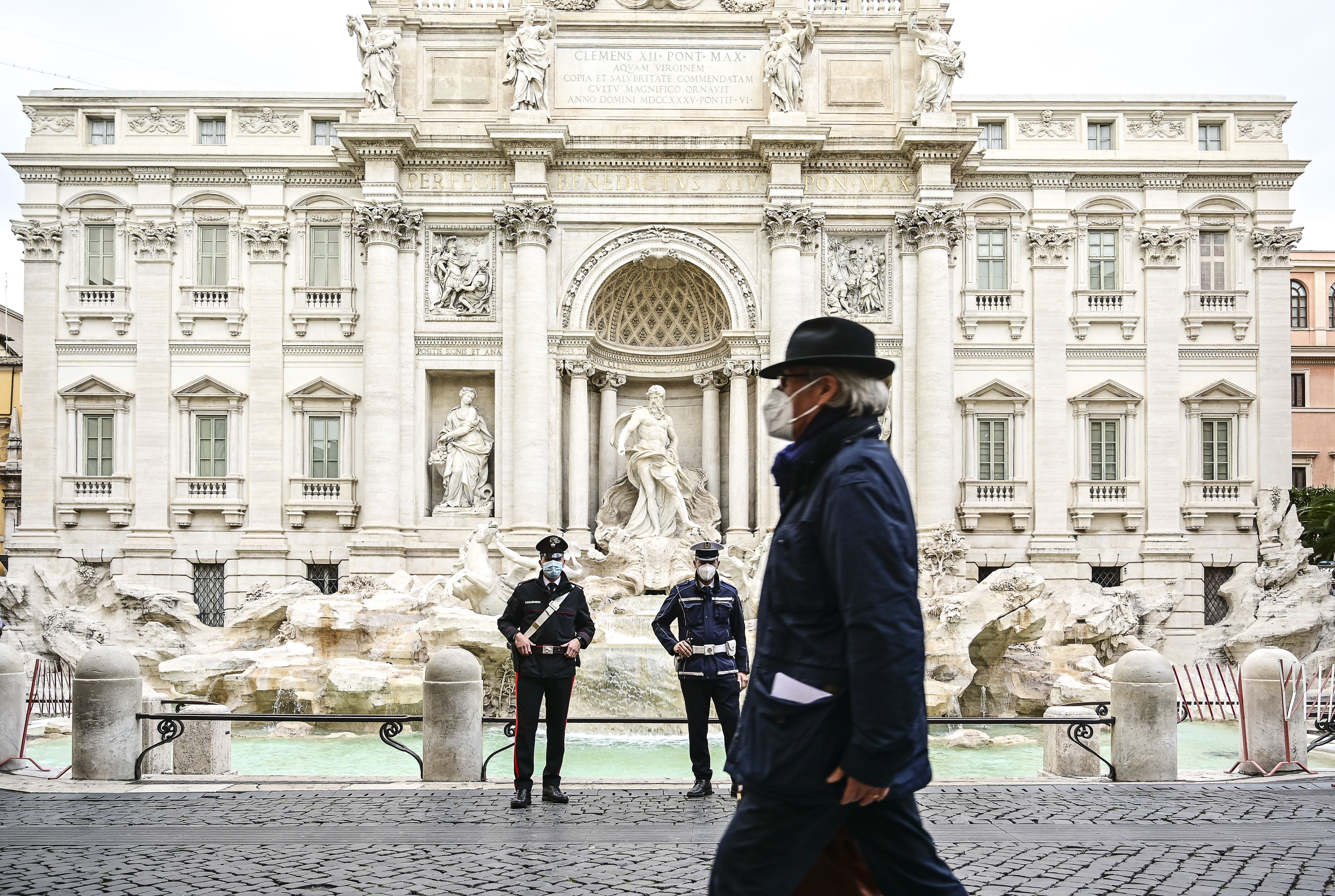 Italy toughens Covid restrictions, imposes Easter lockdown