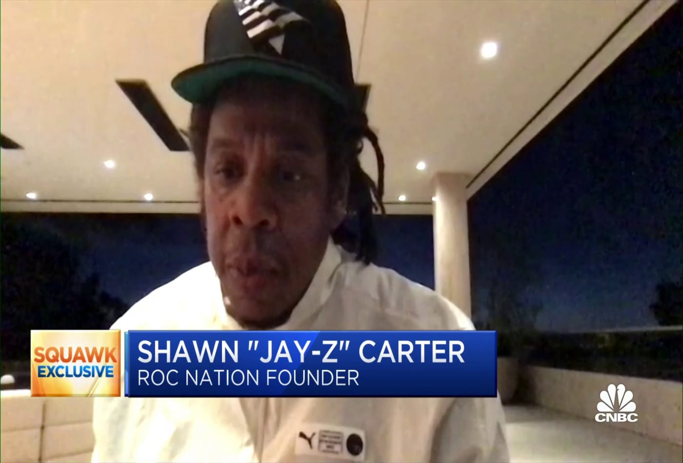 Jay-Z on teaming up with Moet on his luxury champagne brand Armand de Brignac