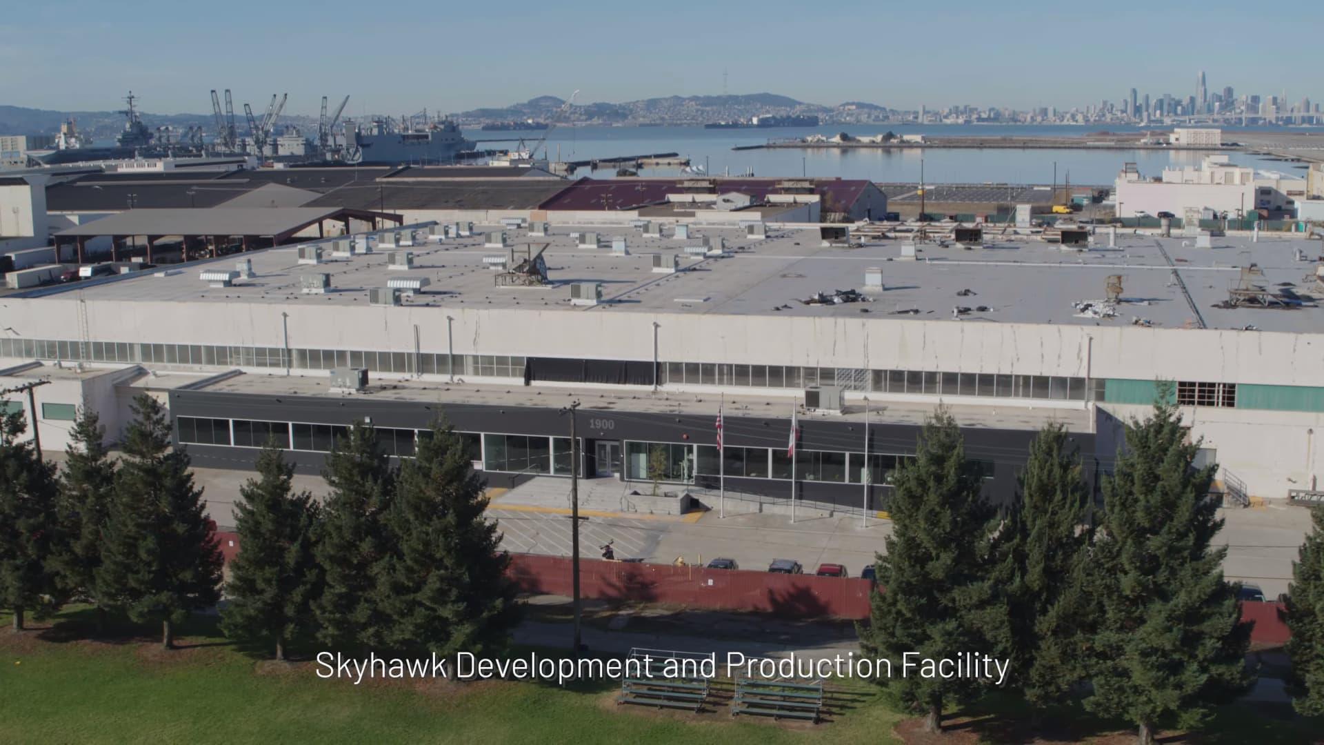 The company's headquarters near the San Francisco Bay in California.