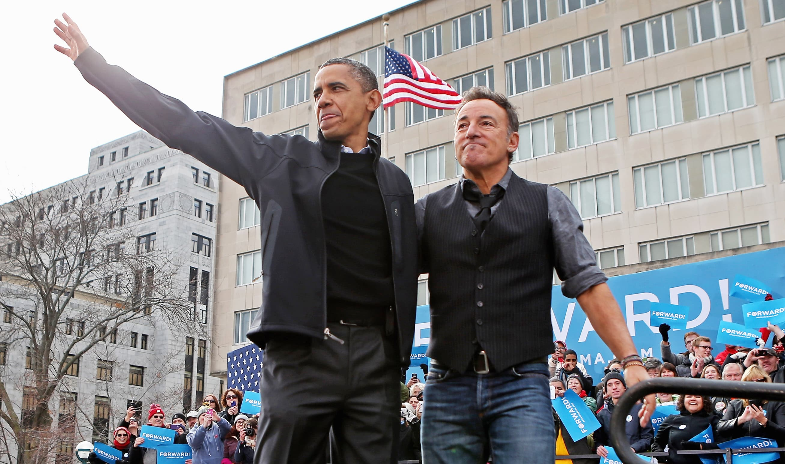 Barack Obama and Bruce Springsteen podcast 'Renegades' coming to Spotify