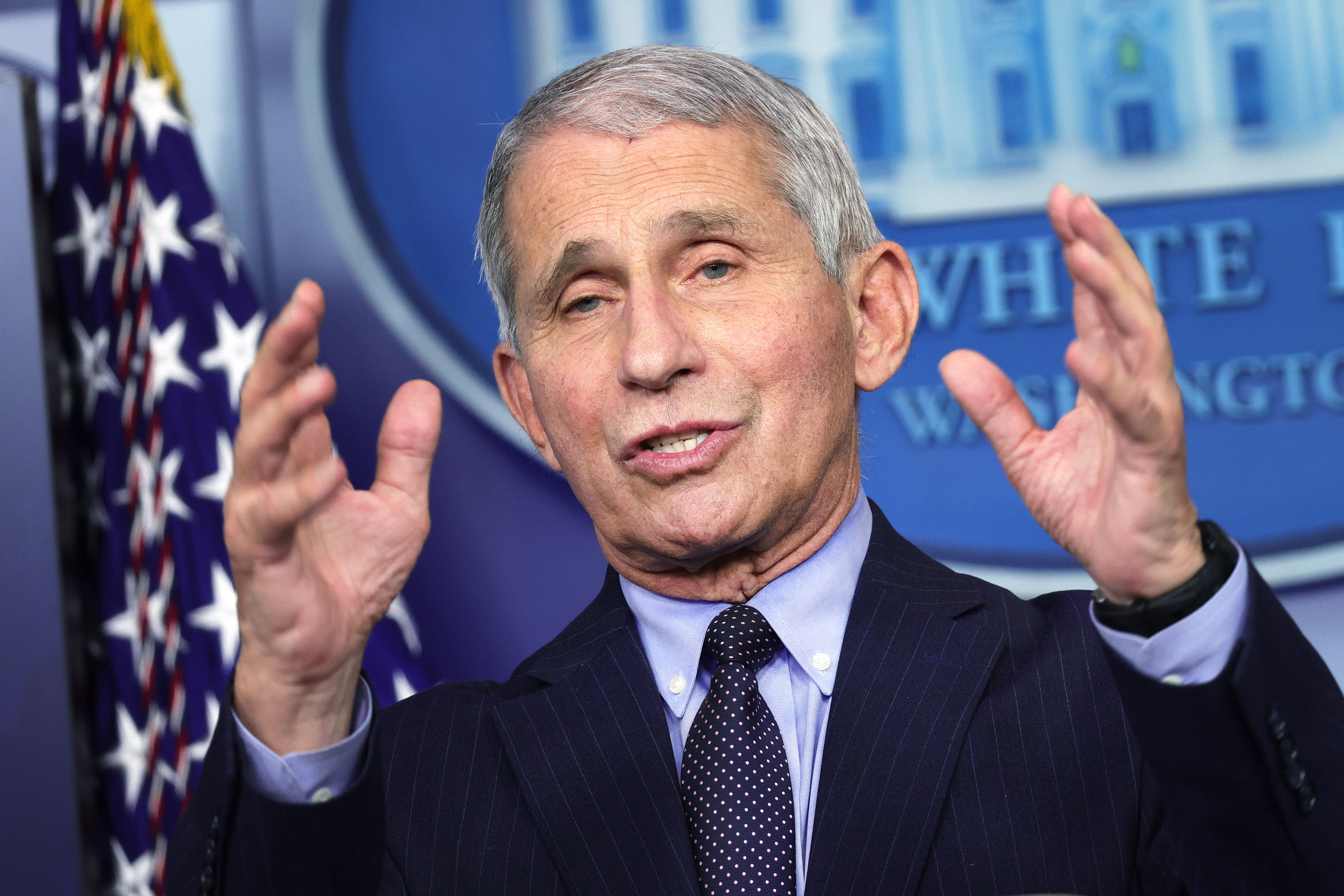 Dr. Fauci says new data suggests 'long' Covid symptoms can last up to 9 months