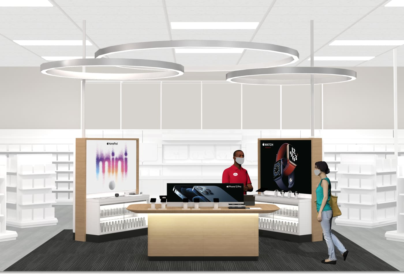 Target to open mini Apple shops inside 17 stores in latest move to woo customers