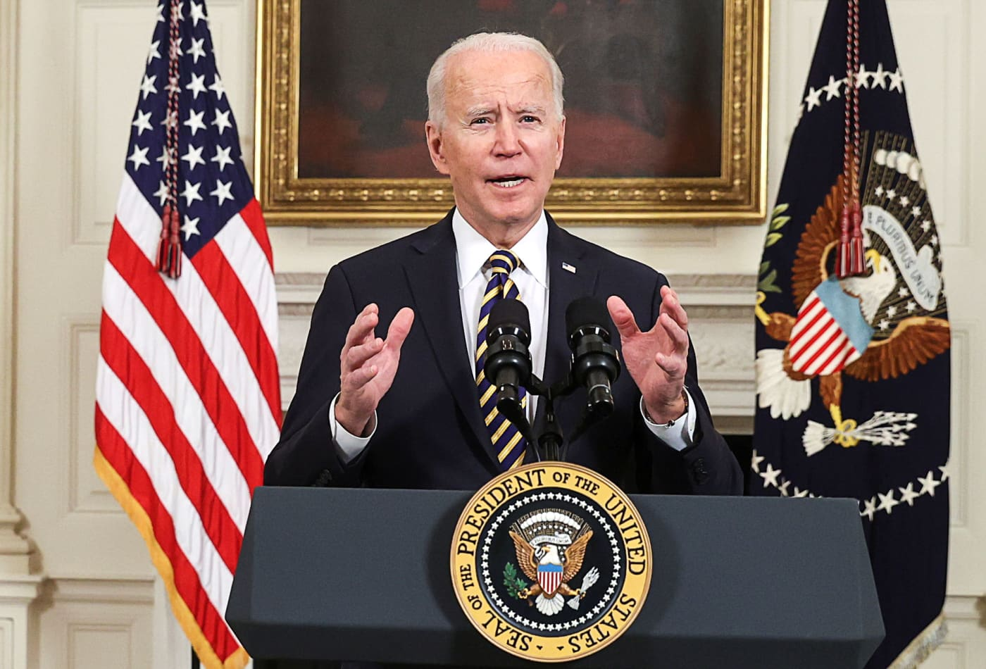 Biden expresses support for Amazon union vote in Alabama: 'Make your voice heard'