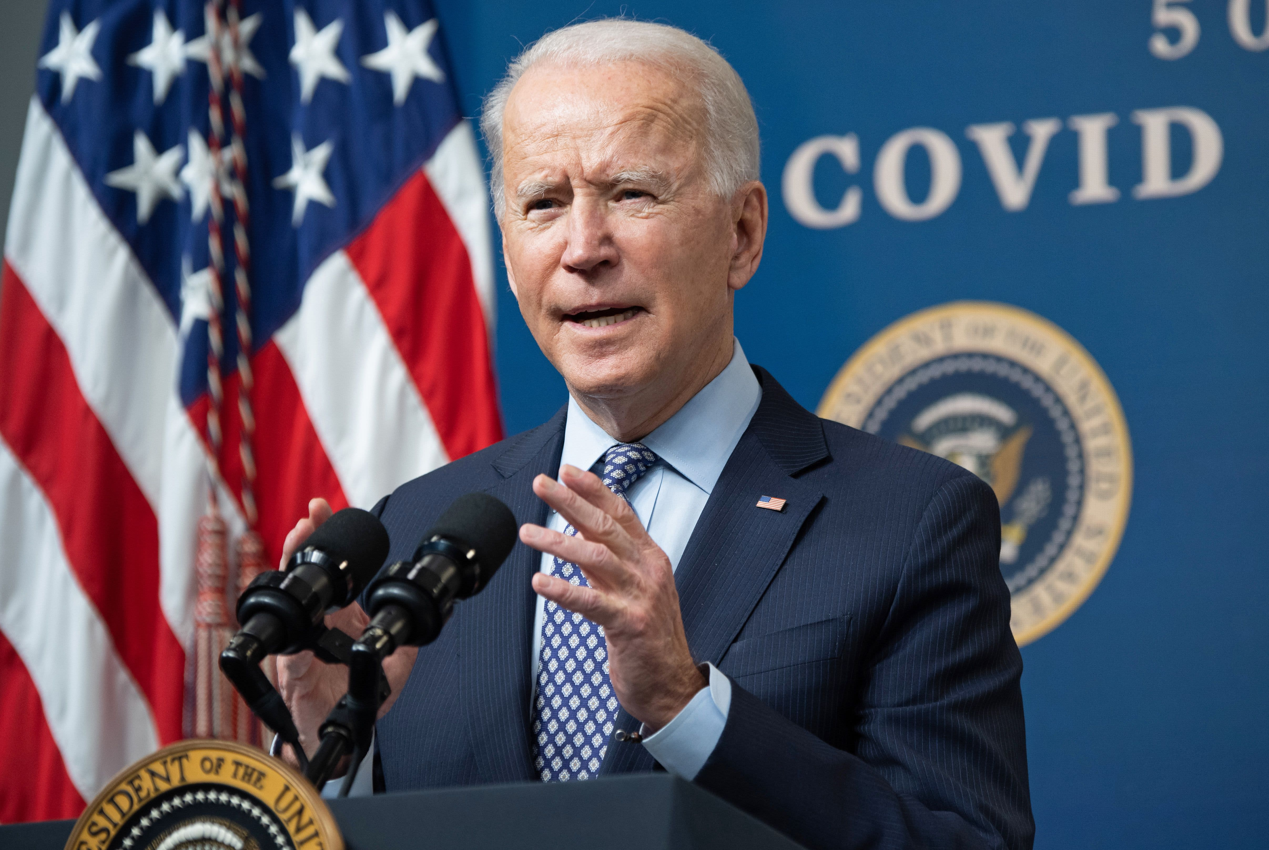 Biden administration taps private companies, business groups for help in Covid fight