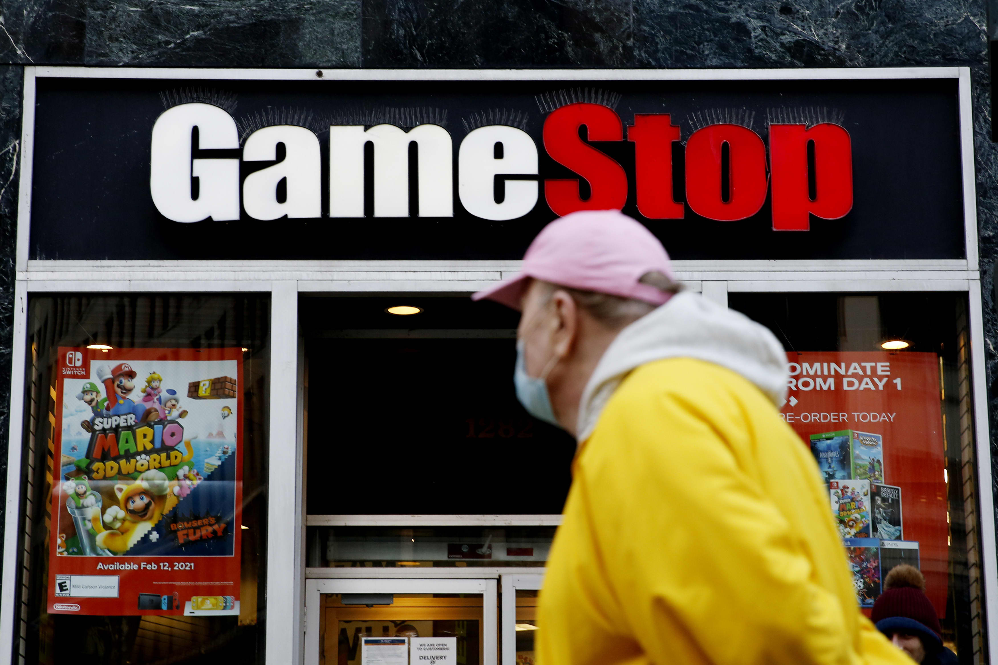 Stocks making the biggest moves after the bell: GameStop, Intel, Steelcase & more