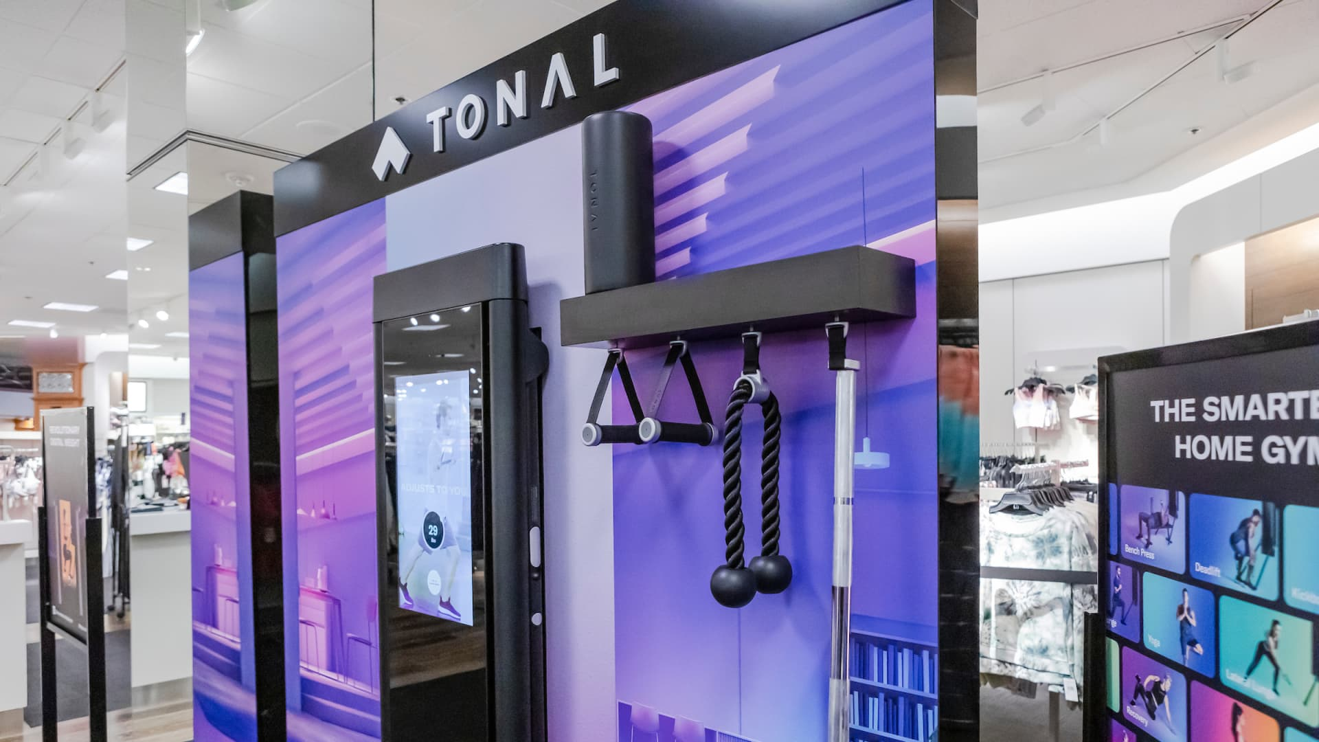 Tonal's wall-mounted workout device retails for $2,995.