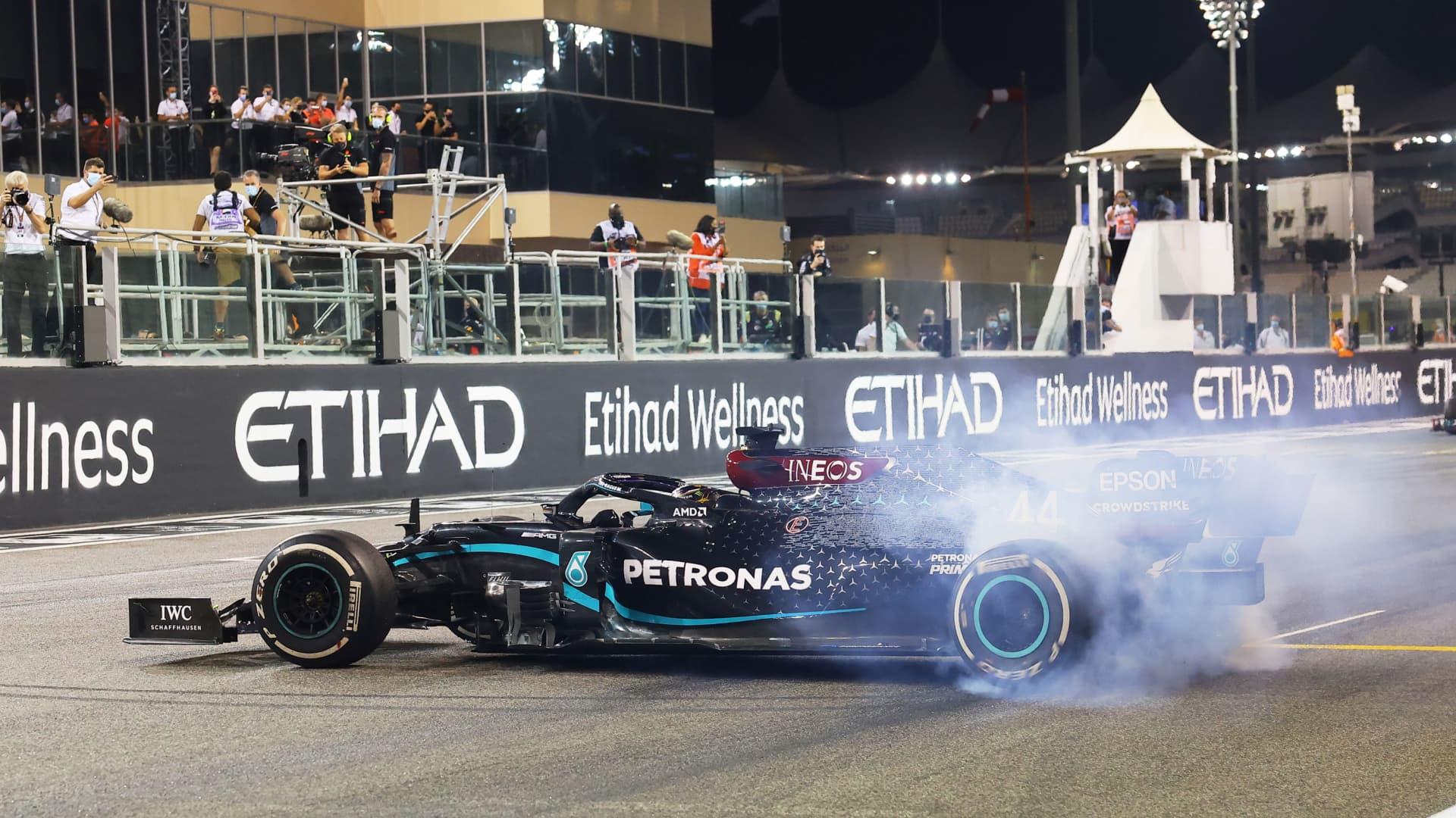 Abu Dhabi Grand Prix in Abu Dhabi, United Arab Emirates, December 13, 2020.