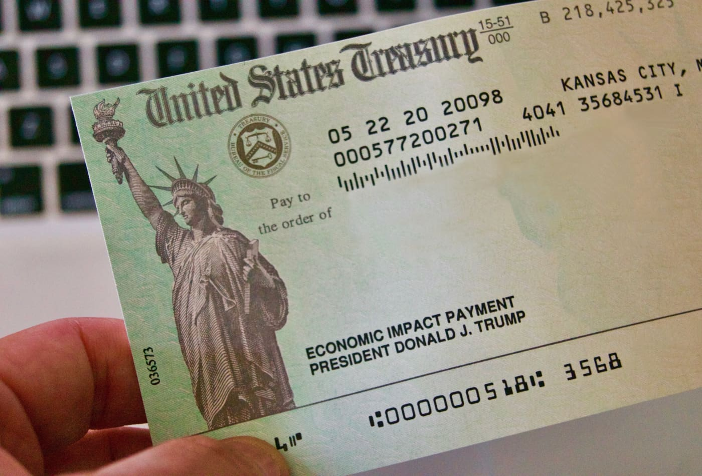Here's who qualifies for a $1,400 stimulus payment under the American Rescue Plan