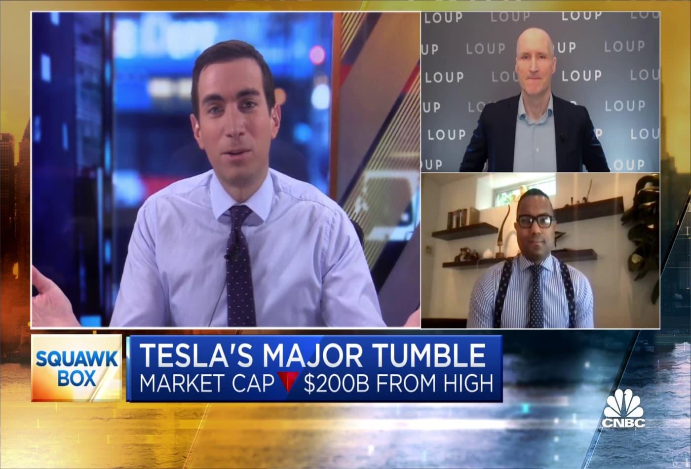 Tesla bull and bear debate the stock's major tumble